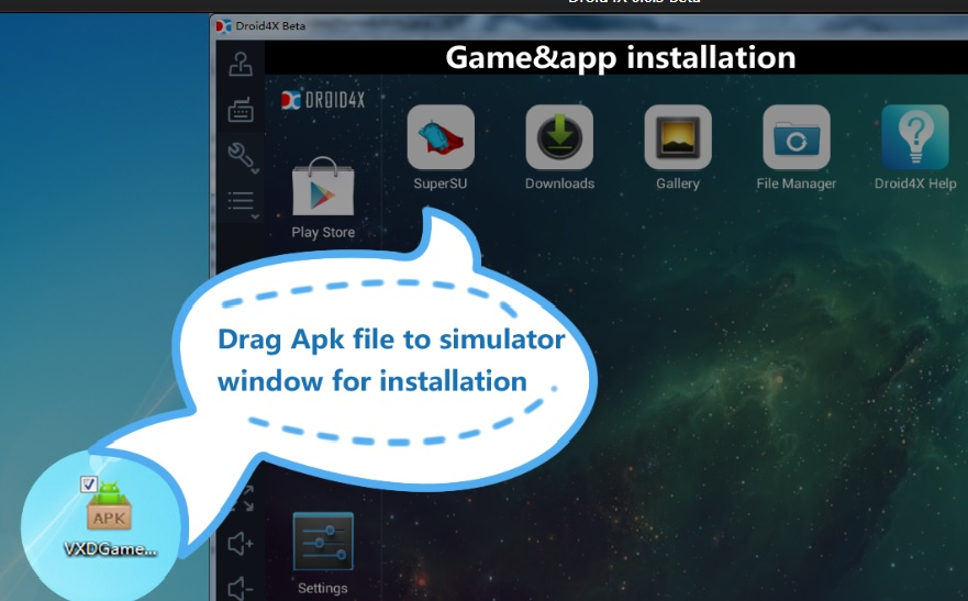 Droid4X - Free Android simulator for PC Windows & Mac OS X |Best gaming  Android emulator for Windows 7/8.1/10 | TechApple