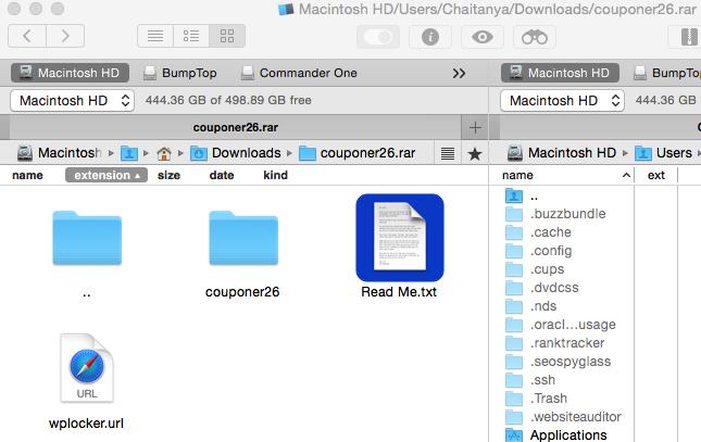 Mac search file name