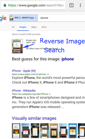 google image search on iphone how to do image search from your mobile android 17001